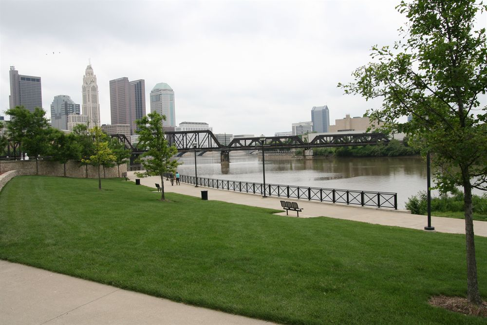 Waterfront in Downtown Columbus Ohio